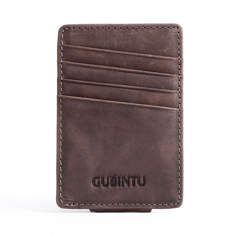 WALLET Moneyclip - Brown